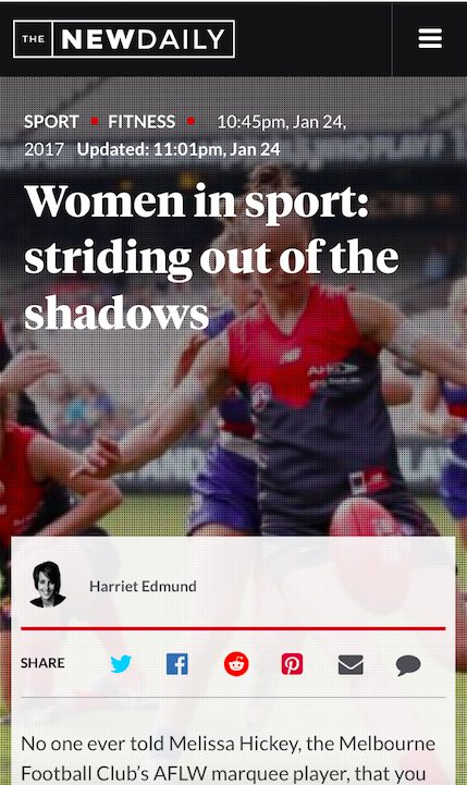 Content-writer-Women-in-Sport